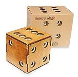 Logica Juegos Art. Cofre Dado Enigmático - Rompecabezas de Madera - Caja Secreta -...