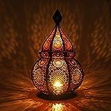 Gadgy ® Farol Arabe (36 cm) l para Velas y Luces eléctricas l Interior y Exterior...