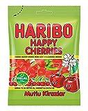 Haribo Happy Cherries / Mutlu Kirazlar, Helal / Halal, ositos de goma, Weingummi,...