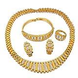 VAWAA Collares de gargantillas africanas para Mujeres, Regalos de Boda árabes de Color...