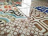 Azulejos Adhesivos con Relieve. Pack de 8 Unidades. Medida Exclusiva en Amazon. Tambien se...