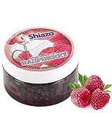 Shiazo - Sustitutivo de tabaco sin nicotina, frambuesa, en forma de piedrecitas, 100 gr,...
