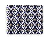 Alfombrilla De Ratón Rectangular Antideslizante De Estilo Árabe Yeuss Basada En Azulejos...