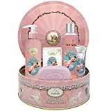 Set Regalo Mujer Flor de Cerezo: 1 gel de ducha/bano de burbujas 250 ml, 1 crema para...