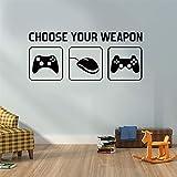 SITAKE Gaming Accessories Adhesivos de pared para dormitorios para niños, decoración de...