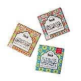 Dukhni Oud Bakhoor Pack of 3 Fragrances (Saher, Ushaaq & Raeed - 9 pcs Each)