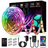 Tiras LED 5m, L8star Tiras de Luces LED Smart 5050 Control APP,Luces Led Habitacion con...