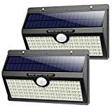 Luz Solar Exterior, Pxwaxpy【286 LED & 2600 Lumen】 Luces Solares con Sensor de...
