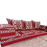 Spirit of 76 Sofá de suelo estilo árabe con relleno interior de majlis oriental,...