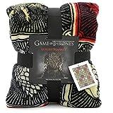 Game of Thrones Gifts Merchandise GOT Manta súper suave para cama Stark Lannister...