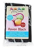 FunCakes Fondant para Cubrir Tartas, Cupcakes, Galletas o Modelar color Negro: Sabor...