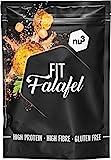 nu3 Fit Falafel - 260 g mezcla de falafel mix (25 bolas) – Harina de garbanzo y especias...