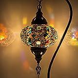Lámpara turca (10 variaciones) - Lámpara de mesa de mosaico hecha a mano - Lámpara...