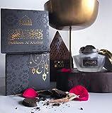 Dukhoon Al Khaleeji Oud Bakhoor - Incenso árabe de lujo, se puede utilizar en un quemador...