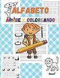 Alfabeto árabe y Coloreando: Alfabeto en Arabe para niños, libros para Aprender Arabe,...