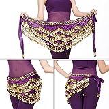Dioche Danza del Vientre Cinturón, Cinturón de Danza Oriental Belly Dance Cinturón de...