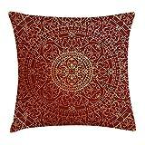 fengxutongx Funda de cojín con diseño de Mandala Oriental de Estilo árabe Antiguo,...