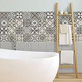 72 piezas Azulejo adhesivo 10x10 cm PS00025 Mosaico de Azulejos Adhesivo de pared Adhesivo...