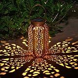 Faroles Solares Exteriores Luz Solar Colgante Luces Jardines Decorativas Lámpara Exterior...