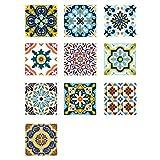 VORCOOL Autoadhesivo Azulejos Decorativos en Vinilo Adhesivo Impermeable para baño de...