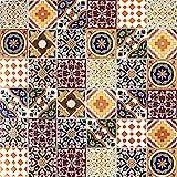 Cerames, baldosas de cerámica marroquí Maraj - 50 baldosas decorativas tunecinas...