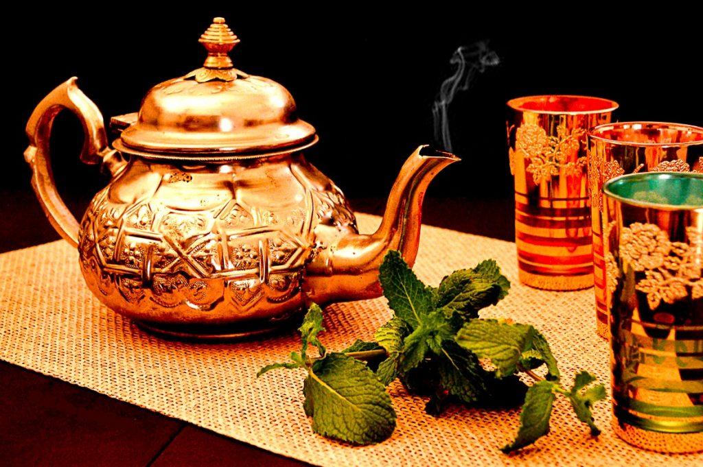 tetera marroquí